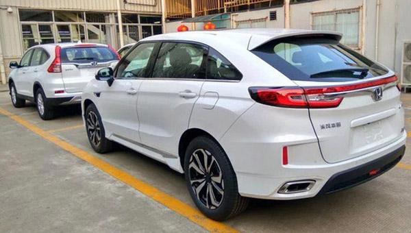 Хонда UR-V— новый соперник БМВ X4 иMercedes GLC Coupe