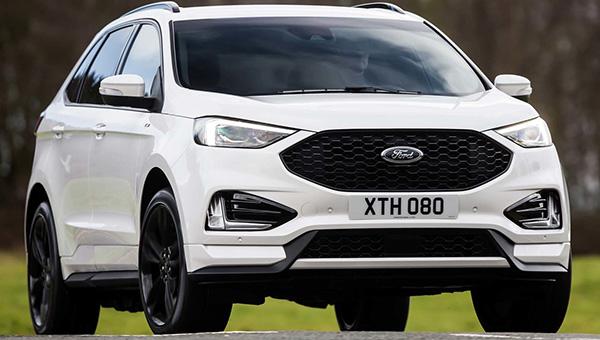 Представлен улучшенный Форд Edge для рынка стран Европы