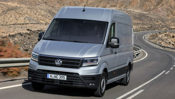 Озвучены европейские цены нового VW Crafter