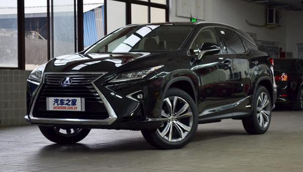 Тойота официально зарегистрировала название 7-местного Лексус RX450h