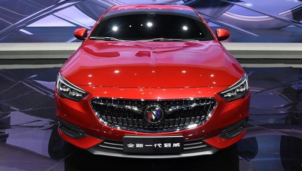 В «Поднебесной» показали салон нового Buick Insignia