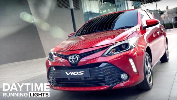 Рестайлинговый Тойота Vios получил дизайн встиле новейшей Camry