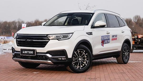 Названа дата старта продаж нового «внедорожника» Zotye T500