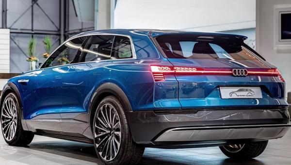 Ауди объявила стоимость своего футуристичного электрокара E-tron Quattro