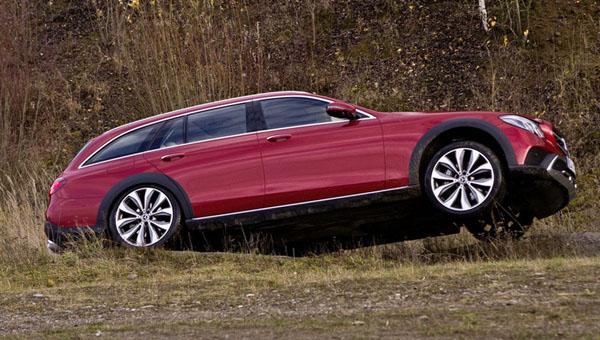 Benz показала полноприводный E-Class All-Terrain для Российской Федерации