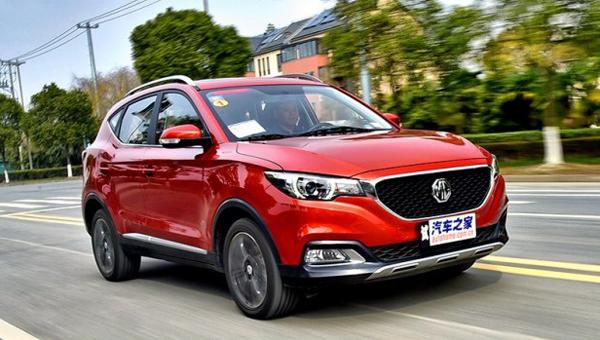 На рынке Китая кначалу весны появится вседорожный автомобиль MGZS