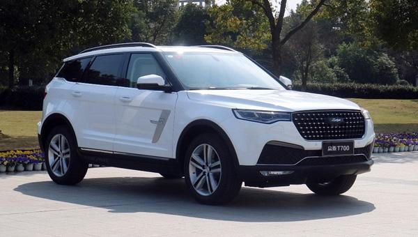 Китайский клон Range Rover Evoque встал на конвейер