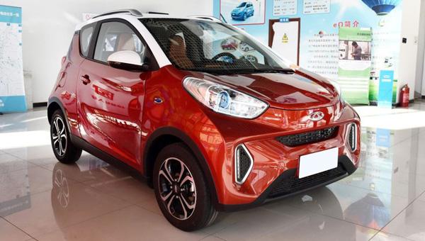 Чери выпускает нарынок компактный вседорожный автомобиль EQ1