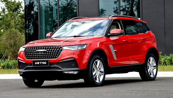 Zotye представила 7-местного клона Range Rover