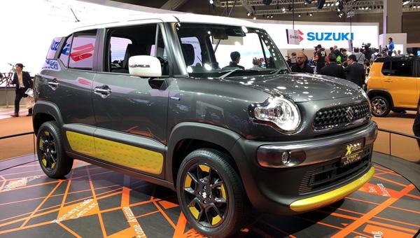 Suzuki показала вТокио внедорожник соткрытым верхом