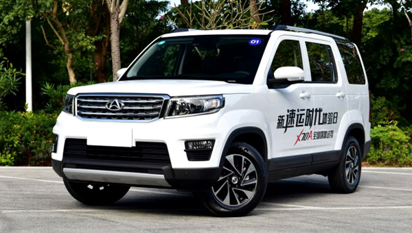 Changan объявил начало продаж бюджетной копии Лэнд-Ровер Discovery