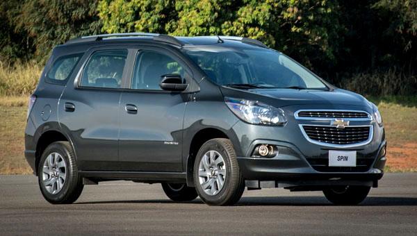 Chevrolet готовит к дебюту обновлённый компактвэн Spin
