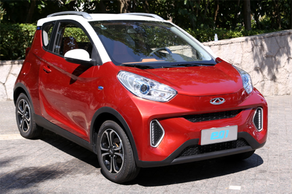 Чери запустила продажи сверхбюджетного четырехместного электромобиля eQ1