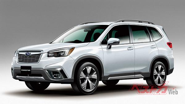 Новый Subaru Forester рассекретили на официальных фото