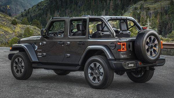 Пикап Jeep Wrangler уже всередине весны последующего года появится впродаже
