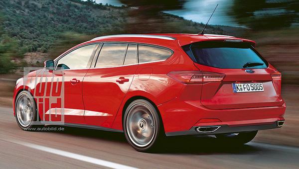Форд Focus обновленного поколения сняли навидео