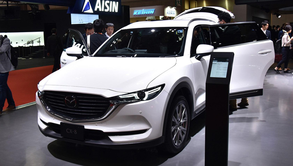 Mazda организует сборку кроссовера CX-9 во Владивостоке