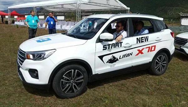 Весной на русском рынке появится впродаже кроссовер Лифан X70
