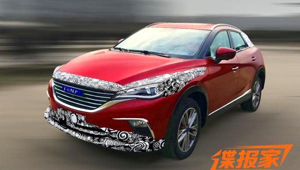 Компания Zotye вывела натестирование копию кросс-купе Мазда CX-4