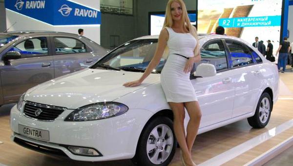 Летом в РФ приедет седан Ravon Gentra