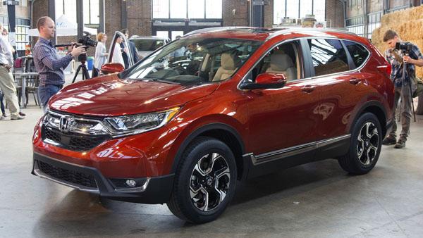 Компания Хонда представит вЛос-Анджелесе кроссовер CR-V