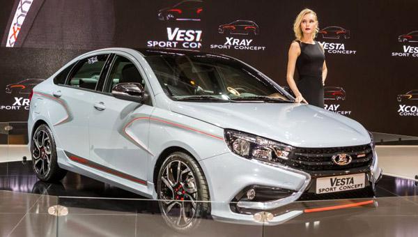 Российский седан Lada Vesta получит новые модификации S-Line и R