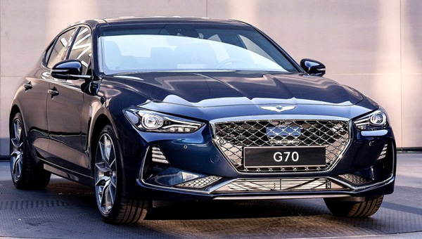 Детали про Genesis G70 для Российской Федерации