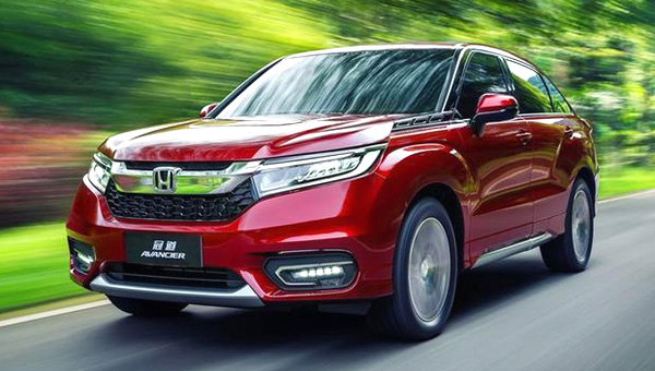 Кроссовер Honda Passport покажут в 2018-ом?
