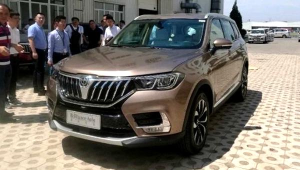 Новый вседорожный автомобиль Brilliance V7 представят на автомобильном салоне встолице Китая