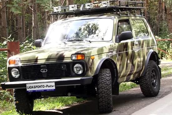 Лада «Нива» лидирует влинейке SUV навторичном рынке РФ