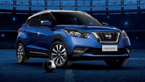 Nissan представил «футбольную» спецверсию кроссовера Kicks
