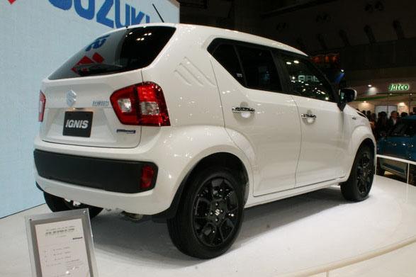 Suzuki ignis 2017 - Технические характеристики и