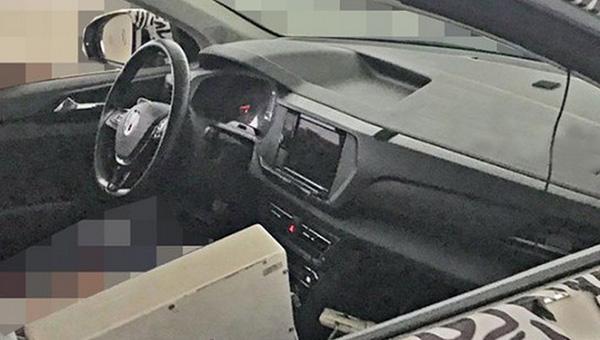 VW  Tharu: вweb-сети интернет  появились первые изображения салона