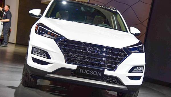 Hyundai выпускает новую модель Tucson