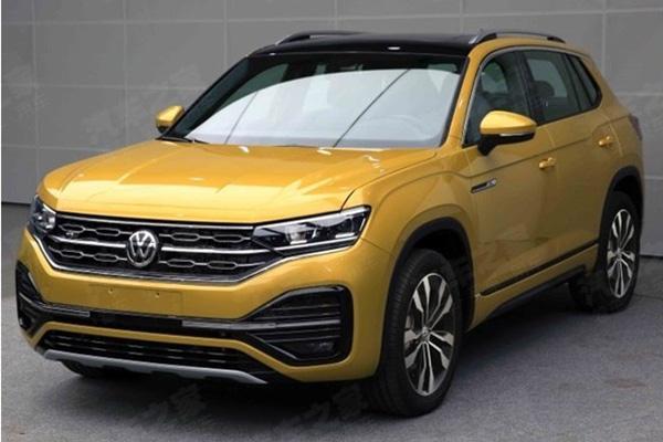 Volkswagen опубликовала официальные снимки кроссовера Tayron