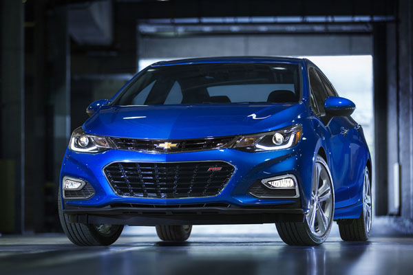 Шевроле представил улучшенный Cruze Diesel 2017