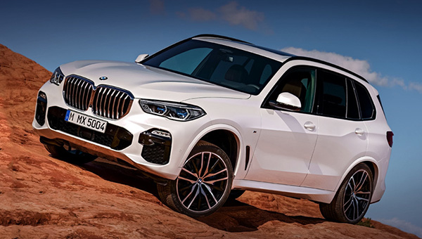 Вот так будет выглядеть новый BMW X5