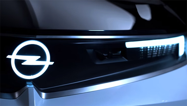 Opel показал дизайн своих будущих моделей на видео