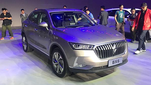 Названа стоимость немецко-китайского кроссовера Borgward BX6