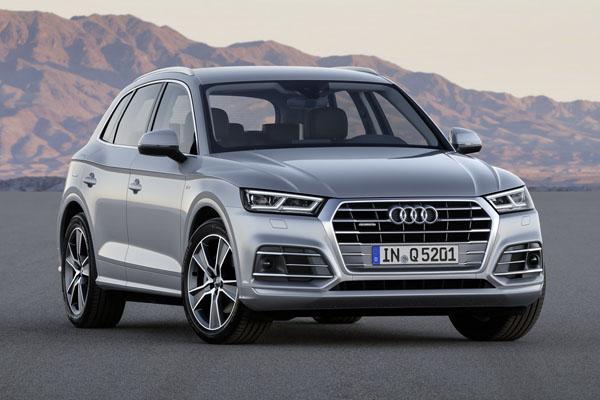 Концерн Audi скоро привезет в Россию обновленный кроссовер Q5