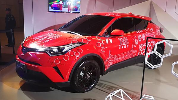 Тойота  презентовала новый компактный кроссовер IZOA