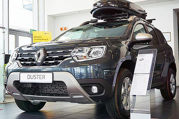 Новый кроссовер Renault Duster приехал на рынок Украины
