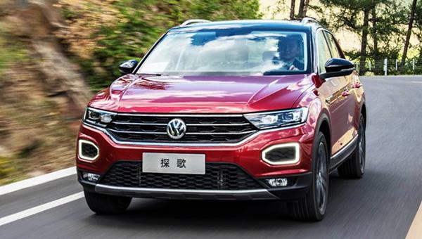 Новый VW T-Cross приобрел «товарный» вид