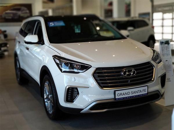 Кроссовер Hyundai Grand Santa Fe покидает российский рынок