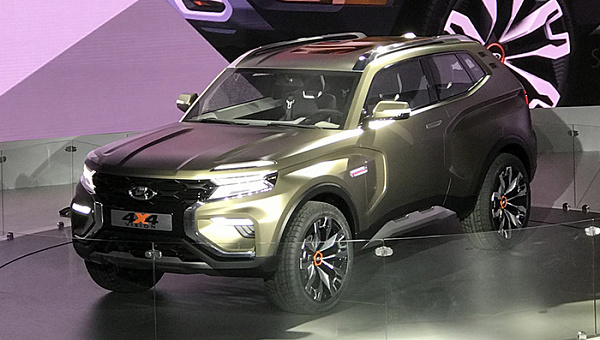 «АвтоВАЗ» представил концепт внедорожника Lada 4х4 Vision