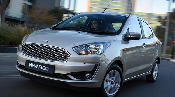 Форд обновил бюджетный седан Форд Aspire